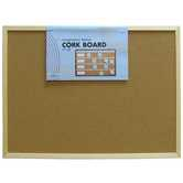 "Corkboard With Wood Frame - 17"" x 23"""